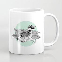 Poisonous Dragon-Teal Palette Coffee Mug