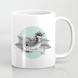 Poisonous Dragon-Teal Palette Coffee Mug