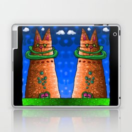 Cat City. Ministry of Meow. Laptop & iPad Skin