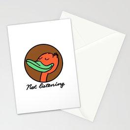 Disregardfulness Stationery Cards