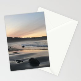Second Beach Sunrise Stationery Cards
