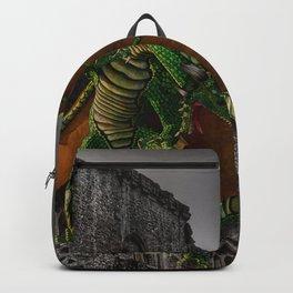 Dragon & Castle Artwork Backpack