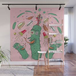 Pickle Boy and the Sandwiches Wall Mural