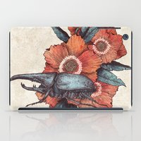 hercules iPad Cases featuring Hercules Beetle by Angela Rizza