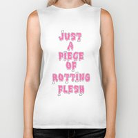 in the flesh Biker Tanks featuring flesh! by gasponce