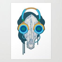 Tune of Teal Art Print