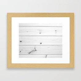 SHIPLAP Framed Art Print