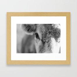 Pretty Lady Framed Art Print