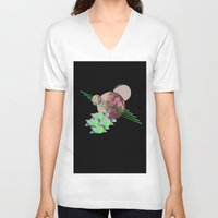 2001 a space odyssey V-neck T-shirts featuring 2001 a space odyssey by lina