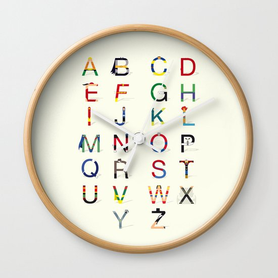 ABC SH (Option 2) Wall Clock