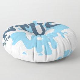 Nantucket Island. Floor Pillow