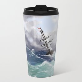 Sail the Seven Seas Travel Mug