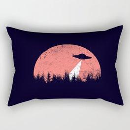 flying saucer Rectangular Pillow