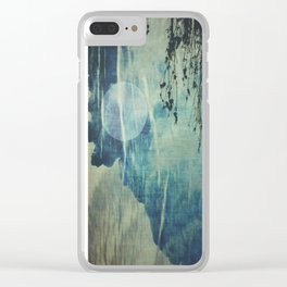 dreaming under the birch Clear iPhone Case