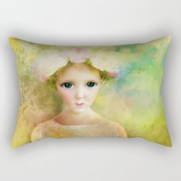 The Eyes Rectangular Pillow