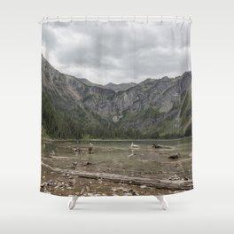 Avalanche Lake No. 1 - Glacier NP Shower Curtain