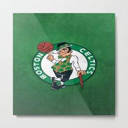 Boston Celtics's celtics Metal Print