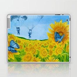 Blue Butterflies Laptop & iPad Skin