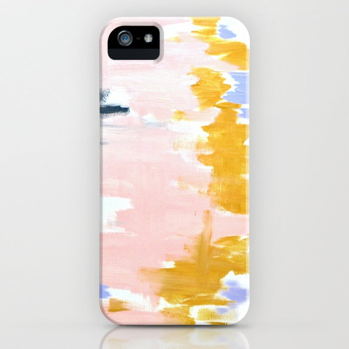 Multicolor spring abstract iPhone Case