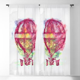 AP102 Hot air balloon Blackout Curtain