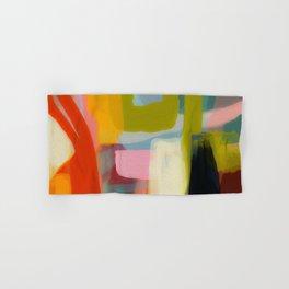 Color study 1 abstract art Hand & Bath Towel