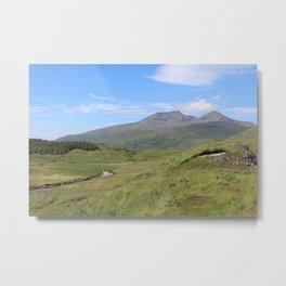 Ben More Mountain, Isle of Mull Metal Print