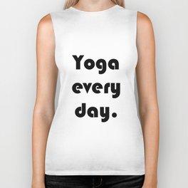Yoga Every Day. Biker Tank