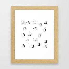 :3 Framed Art Print