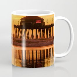 HB Sunset Surfer 12-16-18 Coffee Mug