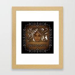 Jugendstil Framed Art Print