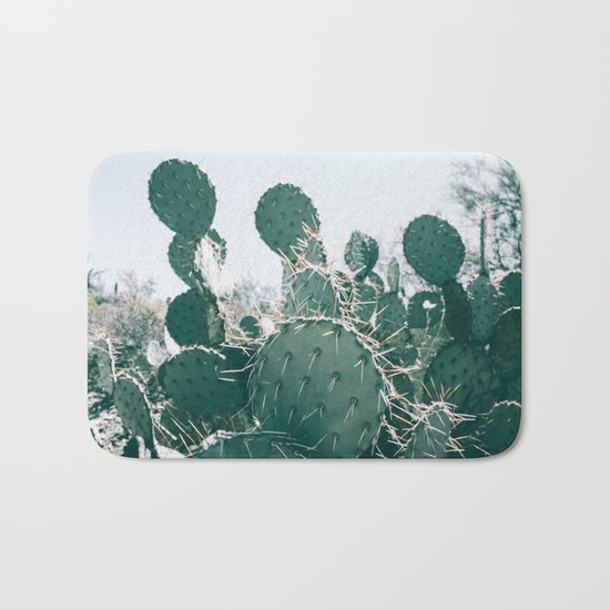 Arizona Cactus II Bath Mat