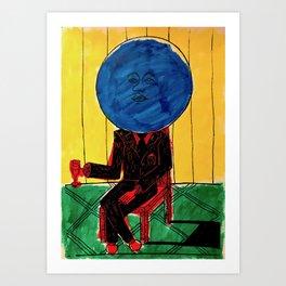 Bleuberry - Pop Art Surrealism Art Art Print