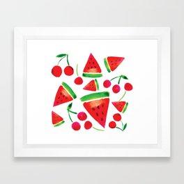 juicy Framed Art Print