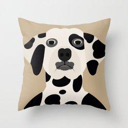 Dálmata Throw Pillow