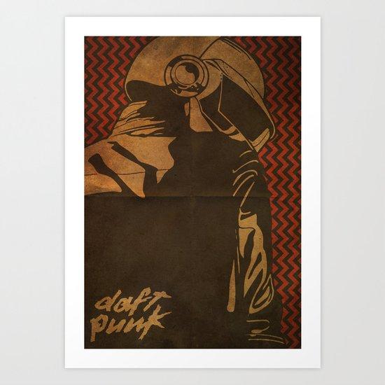 Daft Punk Thomas Bangalter II Art Print