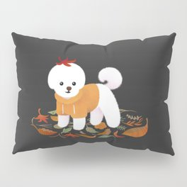 Autumnal Bichon Pillow Sham