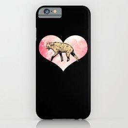 Hyena Heart iPhone Case