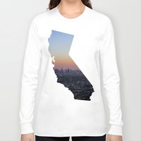 california Long Sleeve T-shirts featuring California by jamester42