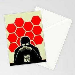 Gendo Ikari from Evangelion. Super Dad. Stationery Cards