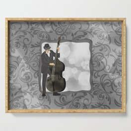 Double Bass Serving Tray