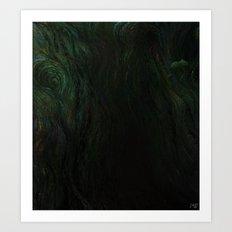 Deep Dark Art Print