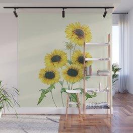 Sunflowers Wall Mural