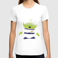 toy story T-shirts featuring Toy Story Alien by TracingHorses