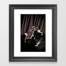 Peeking Out II Framed Art Print