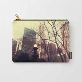 Vintage view out of Central Park  Carry-All Pouch