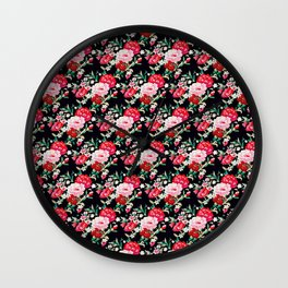 Vampire Weekend Floral Pattern Wall Clock