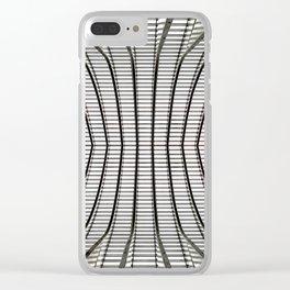 Radiante cum grande splendore Clear iPhone Case