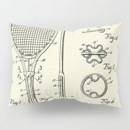 Tennis Racket-1948 Pillow Sham