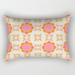 Sixties Tile Rectangular Pillow