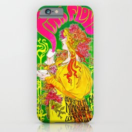 PF vintage poster iPhone Case